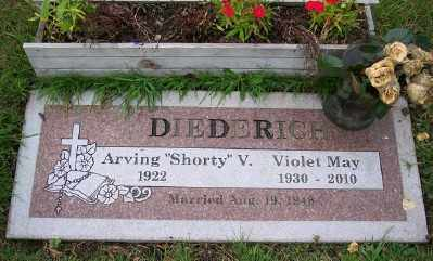 DIEDERICH, ARVING V - Tillamook County, Oregon | ARVING V DIEDERICH - Oregon Gravestone Photos