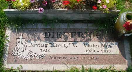 DIEDERICH, VIOLET MAY - Tillamook County, Oregon   VIOLET MAY DIEDERICH - Oregon Gravestone Photos