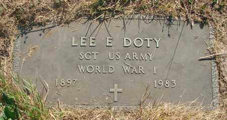 DOTY, LEE E - Tillamook County, Oregon | LEE E DOTY - Oregon Gravestone Photos