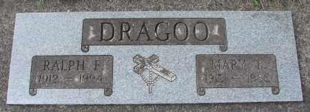 DRAGOO, MARY T - Tillamook County, Oregon | MARY T DRAGOO - Oregon Gravestone Photos