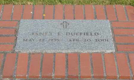 DUFFIELD, JANET L - Tillamook County, Oregon | JANET L DUFFIELD - Oregon Gravestone Photos