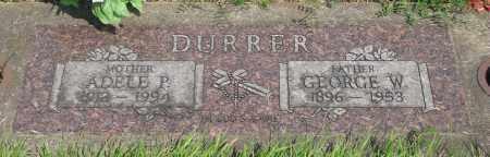 DURRER, GEORGE W - Tillamook County, Oregon | GEORGE W DURRER - Oregon Gravestone Photos