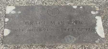 DURRER, GRACE M - Tillamook County, Oregon | GRACE M DURRER - Oregon Gravestone Photos
