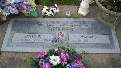 DURRER, JAMES W - Tillamook County, Oregon   JAMES W DURRER - Oregon Gravestone Photos