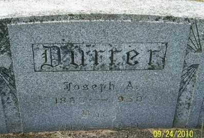 DURRER, JOSEPH A - Tillamook County, Oregon   JOSEPH A DURRER - Oregon Gravestone Photos