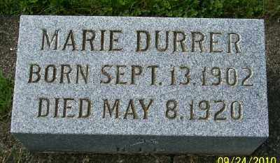 DURRER, MARIE - Tillamook County, Oregon | MARIE DURRER - Oregon Gravestone Photos