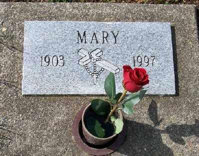 DURRER, MARY - Tillamook County, Oregon   MARY DURRER - Oregon Gravestone Photos