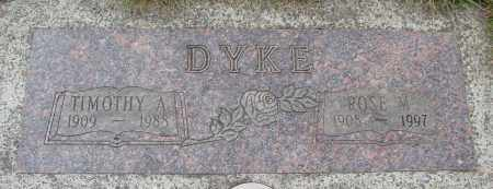 DYKE, TIMOTHY A - Tillamook County, Oregon | TIMOTHY A DYKE - Oregon Gravestone Photos