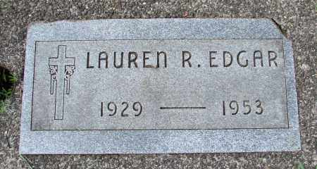 EDGAR, LAUREN R - Tillamook County, Oregon | LAUREN R EDGAR - Oregon Gravestone Photos