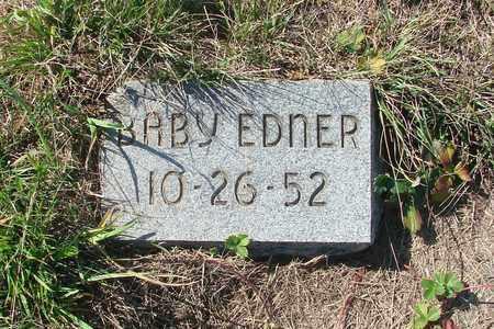 EDNER, BABY - Tillamook County, Oregon | BABY EDNER - Oregon Gravestone Photos