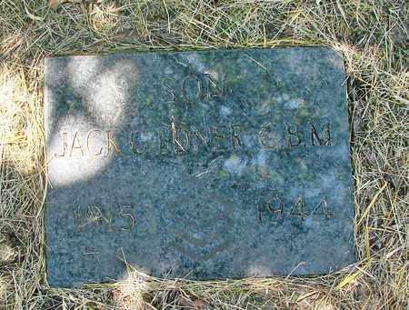 EDNER, JACK C - Tillamook County, Oregon | JACK C EDNER - Oregon Gravestone Photos