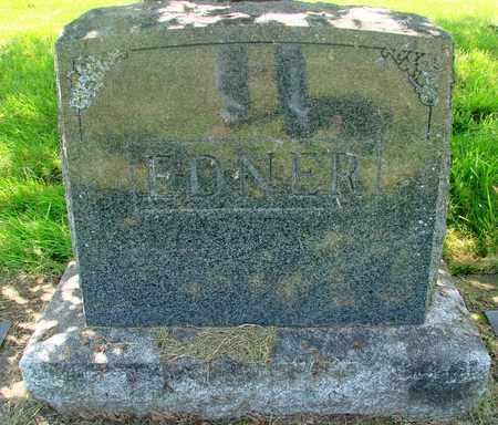 EDNER, MONUMENT - Tillamook County, Oregon | MONUMENT EDNER - Oregon Gravestone Photos