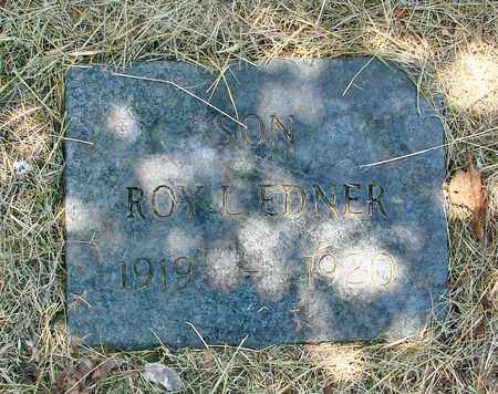 EDNER, ROY LAWRENCE - Tillamook County, Oregon | ROY LAWRENCE EDNER - Oregon Gravestone Photos