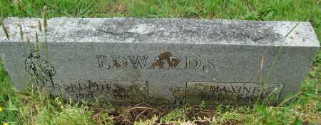 EDWARDS, MAXINE - Tillamook County, Oregon | MAXINE EDWARDS - Oregon Gravestone Photos