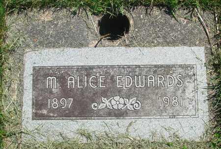 EDWARDS, MARGARET ALICE - Tillamook County, Oregon | MARGARET ALICE EDWARDS - Oregon Gravestone Photos
