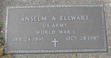 ELLWART (WWI), ANSELM A - Tillamook County, Oregon | ANSELM A ELLWART (WWI) - Oregon Gravestone Photos