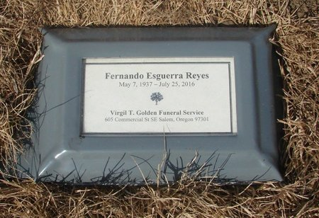 ESGUERRA REYES, FERNANDO - Tillamook County, Oregon | FERNANDO ESGUERRA REYES - Oregon Gravestone Photos