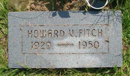 FITCH, HOWARD V - Tillamook County, Oregon | HOWARD V FITCH - Oregon Gravestone Photos