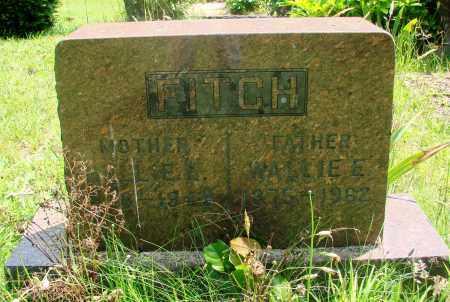 FITCH, WALLACE E - Tillamook County, Oregon | WALLACE E FITCH - Oregon Gravestone Photos