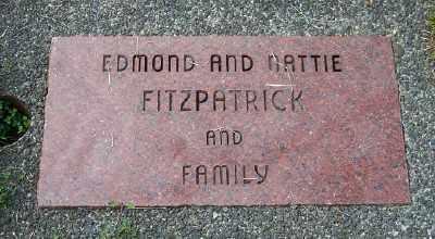 FITZPATRICK, EDMOND - Tillamook County, Oregon | EDMOND FITZPATRICK - Oregon Gravestone Photos