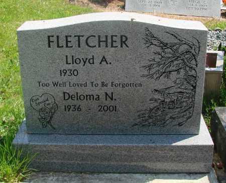 FLETCHER, DELOMA N - Tillamook County, Oregon | DELOMA N FLETCHER - Oregon Gravestone Photos