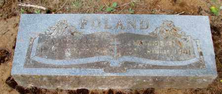 FOLAND, MAGADELENA - Tillamook County, Oregon | MAGADELENA FOLAND - Oregon Gravestone Photos