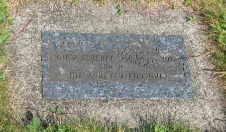 FOSSBIND, JEREMY - Tillamook County, Oregon | JEREMY FOSSBIND - Oregon Gravestone Photos