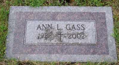 GASS, ANN L - Tillamook County, Oregon   ANN L GASS - Oregon Gravestone Photos