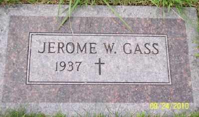 GASS, JEROME W - Tillamook County, Oregon | JEROME W GASS - Oregon Gravestone Photos