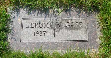 GASS, JEROME W - Tillamook County, Oregon   JEROME W GASS - Oregon Gravestone Photos