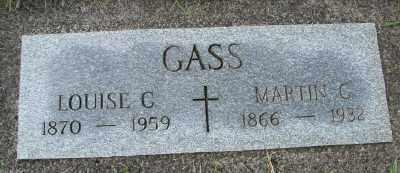GASS, MARTIN C - Tillamook County, Oregon | MARTIN C GASS - Oregon Gravestone Photos