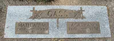 HURLIMAN GASS, AGATHA K - Tillamook County, Oregon | AGATHA K HURLIMAN GASS - Oregon Gravestone Photos