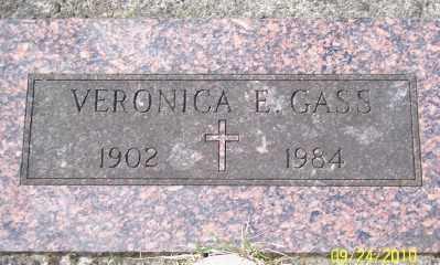 GASS, VERONICA E - Tillamook County, Oregon | VERONICA E GASS - Oregon Gravestone Photos