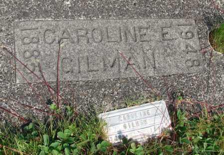 GILMAN, CAROLINE E - Tillamook County, Oregon | CAROLINE E GILMAN - Oregon Gravestone Photos