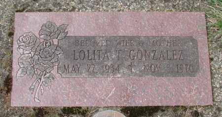 GONZALEZ, LOLITA T - Tillamook County, Oregon | LOLITA T GONZALEZ - Oregon Gravestone Photos
