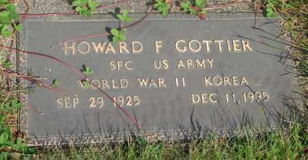 GOTTIER (KOR), HOWARD F - Tillamook County, Oregon | HOWARD F GOTTIER (KOR) - Oregon Gravestone Photos