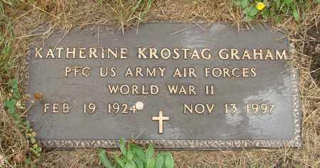 KROSTAG, KATHERINE - Tillamook County, Oregon | KATHERINE KROSTAG - Oregon Gravestone Photos
