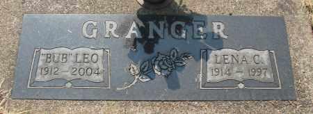 GRANGER, LENA C - Tillamook County, Oregon | LENA C GRANGER - Oregon Gravestone Photos
