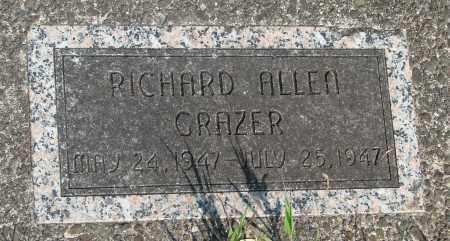 GRAZER, RICHARD ALLEN - Tillamook County, Oregon | RICHARD ALLEN GRAZER - Oregon Gravestone Photos