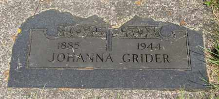 GRIDER, JOHANN - Tillamook County, Oregon | JOHANN GRIDER - Oregon Gravestone Photos