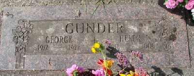 GUNDER, GEORGE - Tillamook County, Oregon | GEORGE GUNDER - Oregon Gravestone Photos