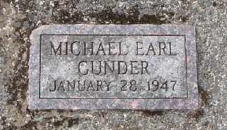 GUNDER, MICHAEL EARL - Tillamook County, Oregon | MICHAEL EARL GUNDER - Oregon Gravestone Photos