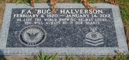 HALVERSON, F A - Tillamook County, Oregon | F A HALVERSON - Oregon Gravestone Photos