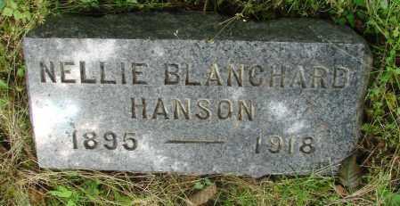 BLANCHARD, NELLIE - Tillamook County, Oregon   NELLIE BLANCHARD - Oregon Gravestone Photos