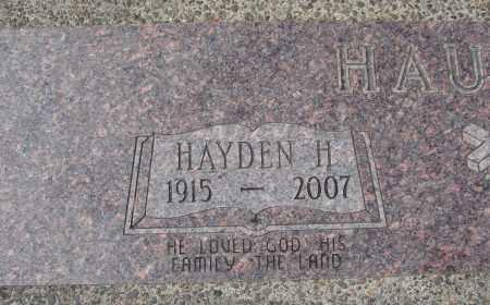HAUPERT, HAYDEN H - Tillamook County, Oregon | HAYDEN H HAUPERT - Oregon Gravestone Photos