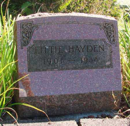 HAYDEN, LITTIE - Tillamook County, Oregon | LITTIE HAYDEN - Oregon Gravestone Photos