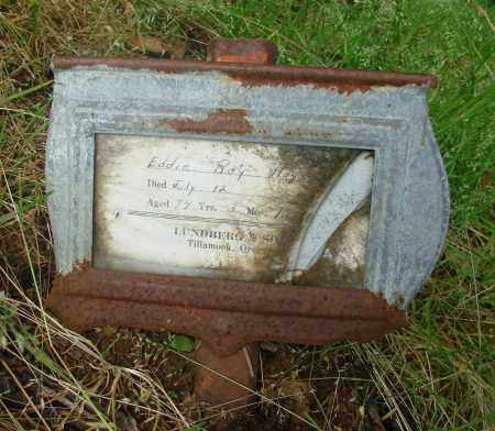 HAYES, EDDIE ROY - Tillamook County, Oregon | EDDIE ROY HAYES - Oregon Gravestone Photos