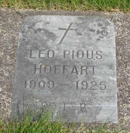 HOFFART, LEO PIOUS - Tillamook County, Oregon | LEO PIOUS HOFFART - Oregon Gravestone Photos