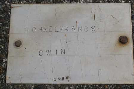 HOHAELFRANGS, CWIN - Tillamook County, Oregon   CWIN HOHAELFRANGS - Oregon Gravestone Photos