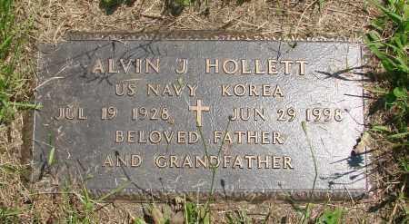 HOLLETT, ALVIN J - Tillamook County, Oregon | ALVIN J HOLLETT - Oregon Gravestone Photos